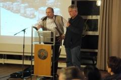 Vorstand Walter Moosinger und Dr. Liebig